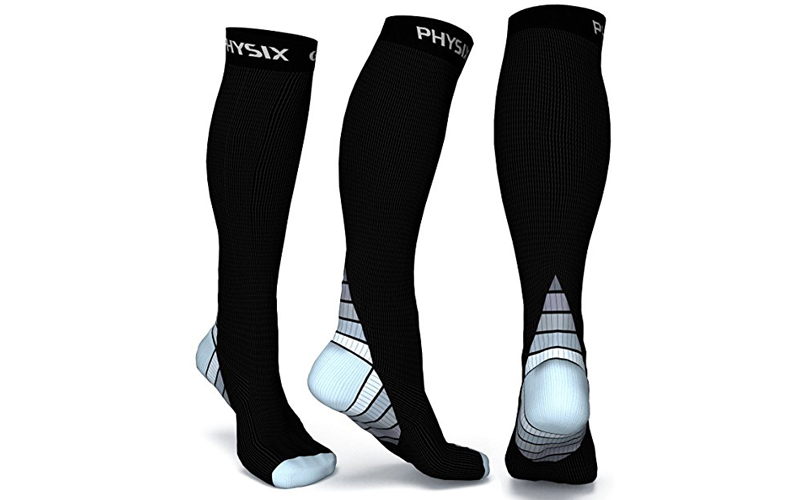 2aa22ed819 How to choose the Best Compression Socks in 2019 - Hi Top Ten